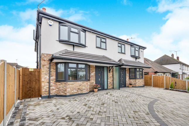 Thumbnail Semi-detached house for sale in Elmsleigh Drive, Leigh-On-Sea