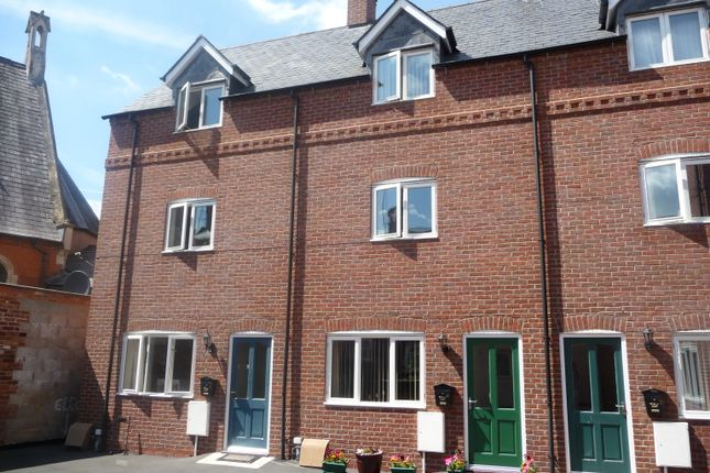 Thumbnail End terrace house to rent in Suffolk Place, Leominster