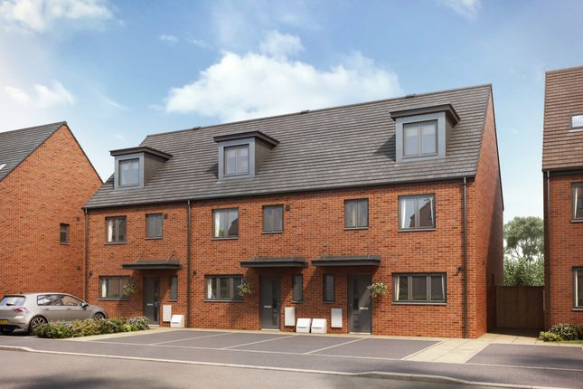 """Thumbnail Semi-detached house for sale in """"The Leicester"""" at Shepherds Green Road, Shirley, Solihull"""