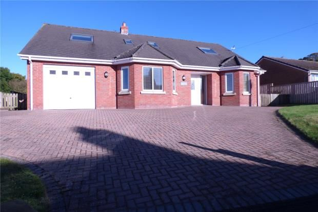 Thumbnail Detached bungalow for sale in Aballava, Thurstonfield, Carlisle, Cumbria
