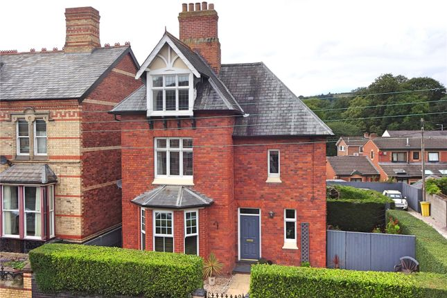 Thumbnail Detached house for sale in New Road, Newtown, Powys