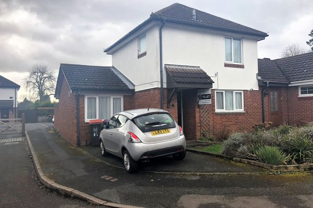 2 bed terraced house to rent in Tynsley Court, Madeley, Shropshire TF7