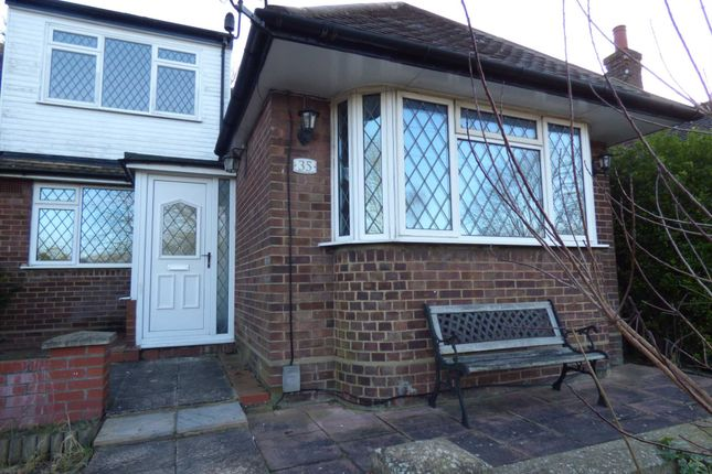 Thumbnail Semi-detached bungalow to rent in Falconers Road, Luton