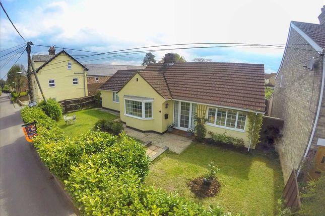 Thumbnail Detached bungalow for sale in Broom Street, Great Cornard, Sudbury
