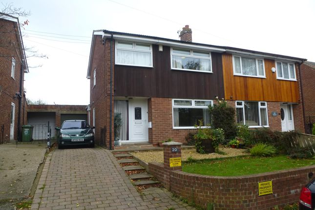 Thumbnail Semi-detached house to rent in North Lane, Elwick, Hartlepool