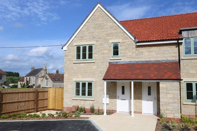 Thumbnail End terrace house for sale in Herbert Gardens, Farmborough, Bath