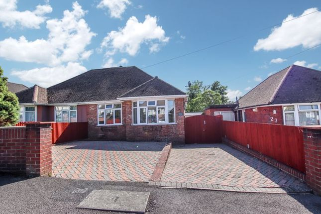 Thumbnail Bungalow for sale in South East Crescent, Sholing, Southampton.