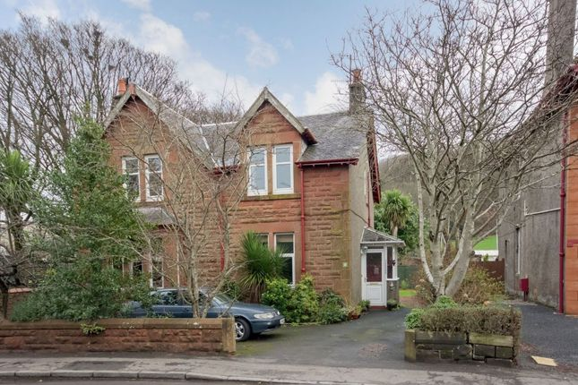 Thumbnail Flat for sale in Irvine Road, Largs