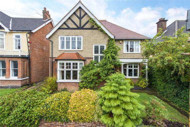 Thumbnail Detached house for sale in Blenheim Road, St. Albans, Hertfordshire