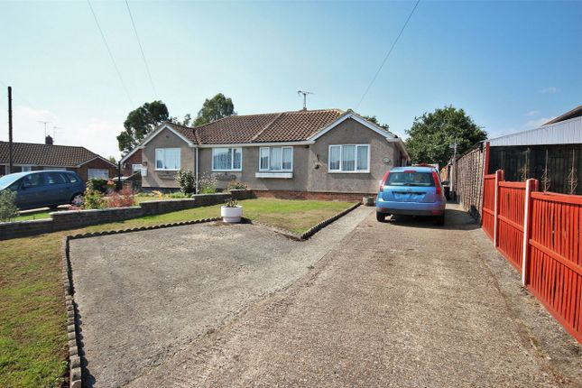 Thumbnail Semi-detached bungalow for sale in Rose Crescent, Colchester, Essex