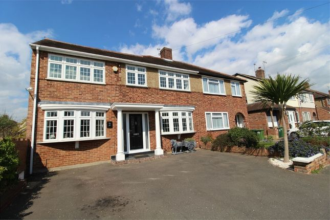 Thumbnail Semi-detached house for sale in Gilmore Crescent, Ashford, Surrey