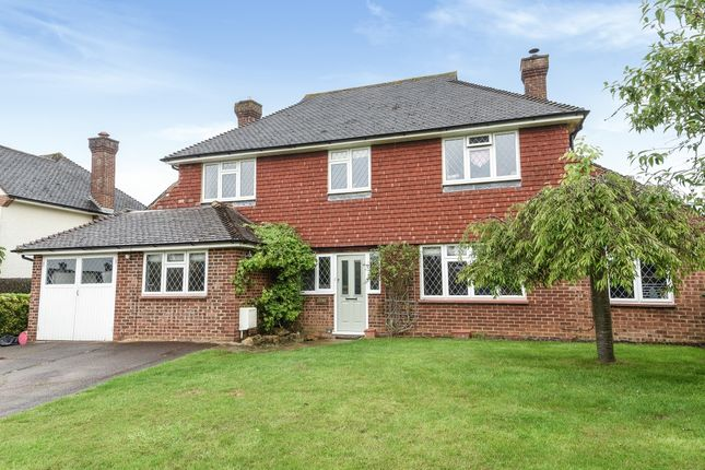 Thumbnail Detached house to rent in Summersbury Drive, Shalford, Guildford