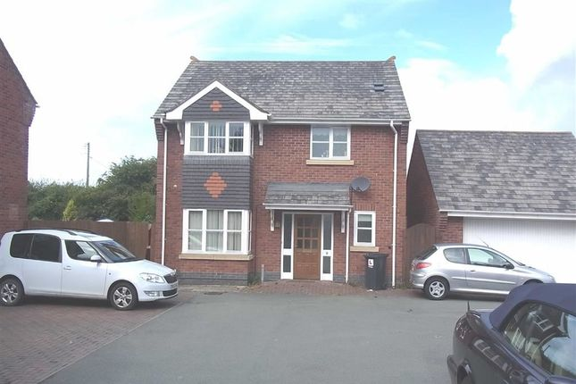 Thumbnail Detached house to rent in 9, Y Clawdd, Four Crosses, Llanymynech