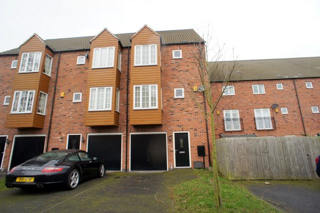 Thumbnail Town house to rent in Lavinia Court, Chellaston, Derby