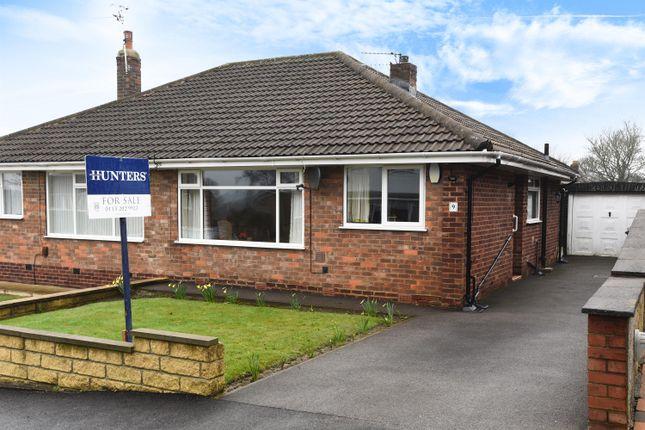 Thumbnail Semi-detached bungalow for sale in Layton Park Avenue, Rawdon, Leeds