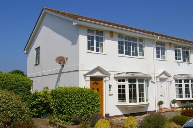 Thumbnail End terrace house for sale in Budleigh Salterton, Devon