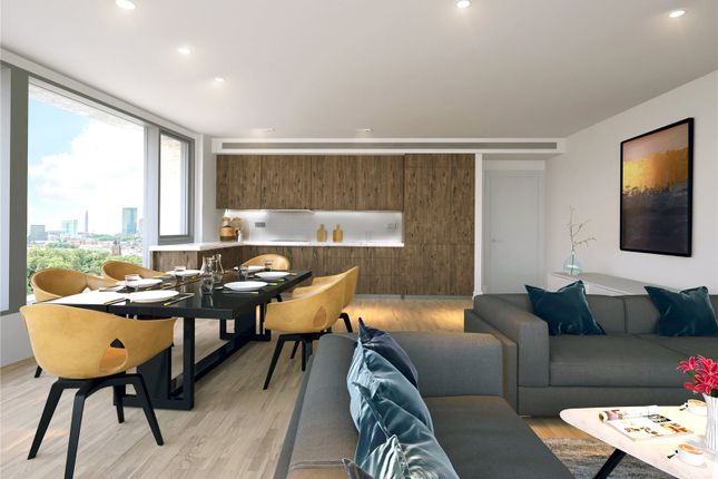 Thumbnail Flat for sale in Onyx Apartments, Kings Cross, London