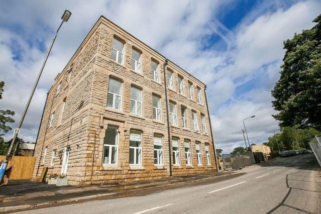 Thumbnail 2 bed flat for sale in Charlestown, Glossop
