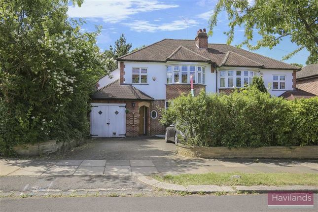 Thumbnail Semi-detached house for sale in The Spinney, Winchmore Hill, London