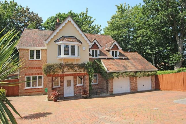 Thumbnail Detached house for sale in Bakers Drove, Rownhams, Southampton