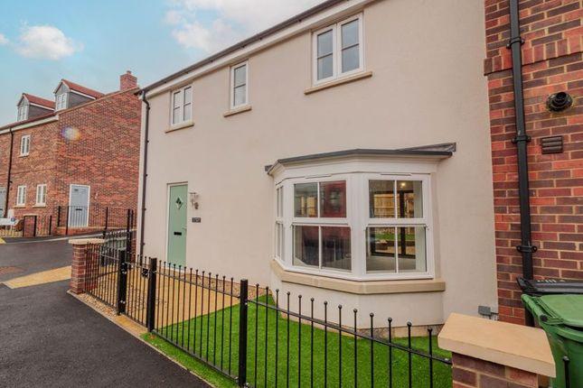 Thumbnail End terrace house for sale in Whiteway, Woodmancote, Dursley