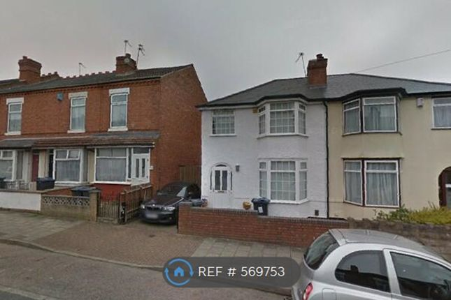 Thumbnail Semi-detached house to rent in Westminster Rd, Birmingham