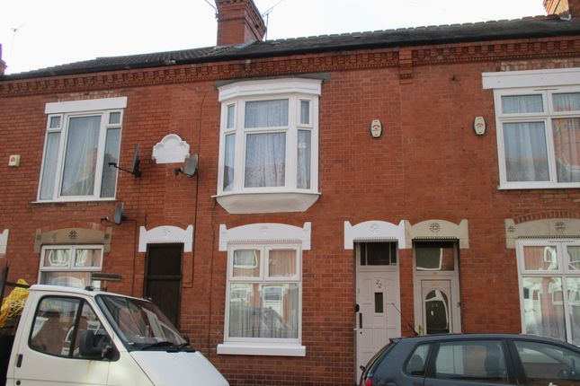 Thumbnail Terraced house to rent in Royal Road, Leicester
