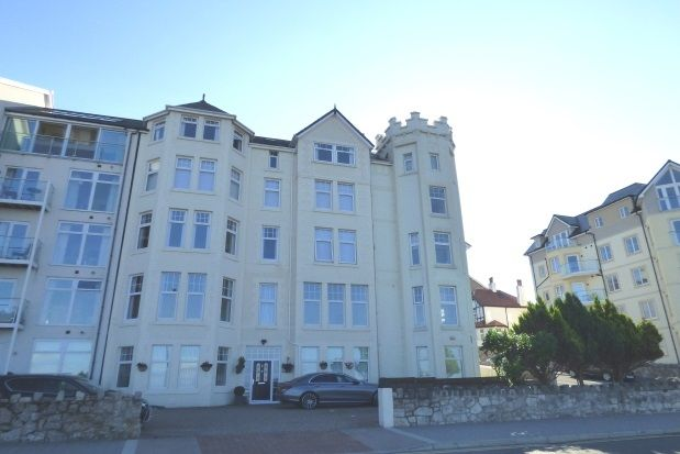 Thumbnail Flat to rent in Penthouse Apartment, The Majestic, Rhos On Sea