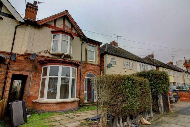 Thumbnail End terrace house for sale in Gladstone Road, Erdington, Birmingham