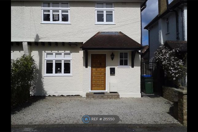 Thumbnail Semi-detached house to rent in Church Lane, Thames Ditton