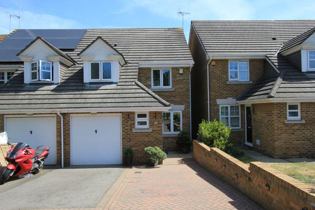 Thumbnail Semi-detached house for sale in Page Close, Bean, Dartford, Kent