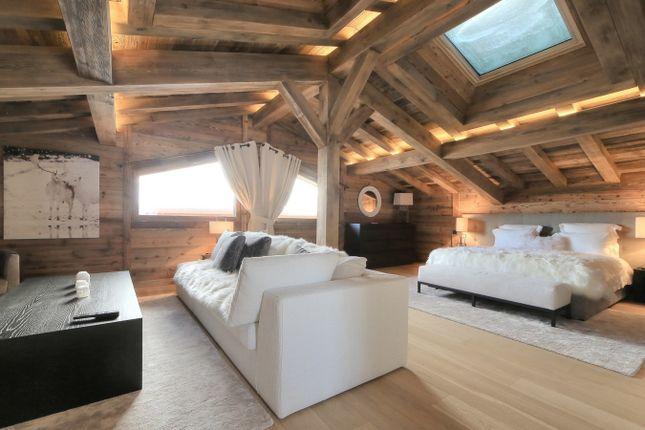 Master Bedroom of Megeve, Rhones Alps, France