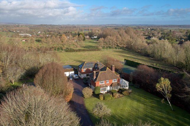 Thumbnail Detached house for sale in Westburton Lane, Bury, Pulborough, West Sussex