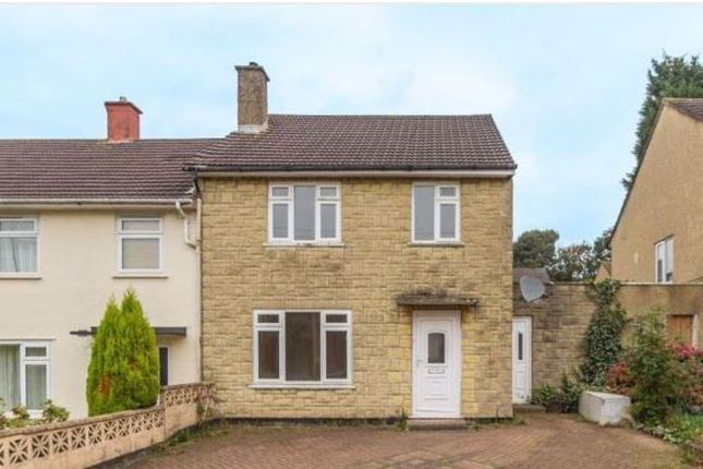 Thumbnail End terrace house for sale in Epworth Road, Bristol