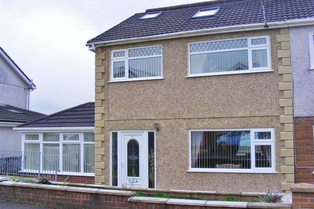 Thumbnail Semi-detached house for sale in Brayley Road, Morriston, Swansea