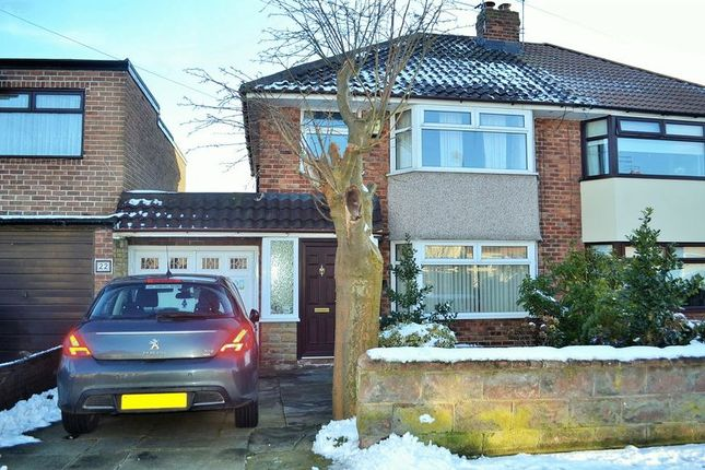 Thumbnail Semi-detached house for sale in Virginia Avenue, Lydiate, Liverpool