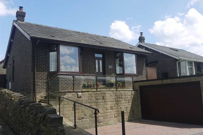 Thumbnail Detached bungalow for sale in Rock Bank, High Peak, Derbyshire