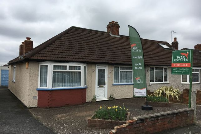 Thumbnail Semi-detached bungalow for sale in Abbotts Walk, Bexleyheath