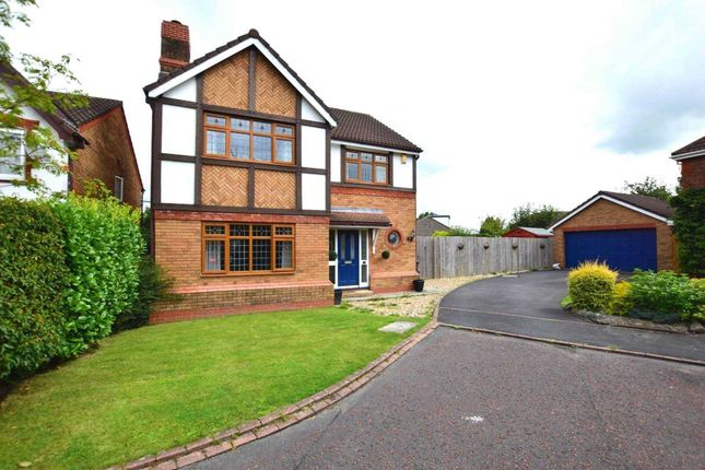 Thumbnail Detached house for sale in Oxley Close, Kirkham, Preston
