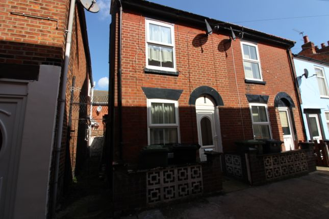 Thumbnail End terrace house to rent in St. Peters Plain, Great Yarmouth