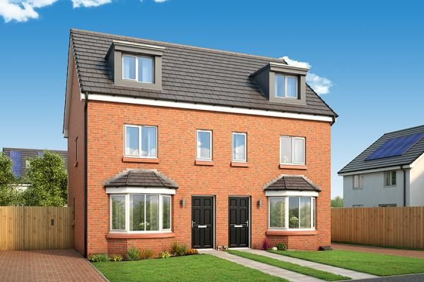"Thumbnail Property for sale in ""The Roxburgh At Abbotsway"" at Inchinnan Road, Paisley"
