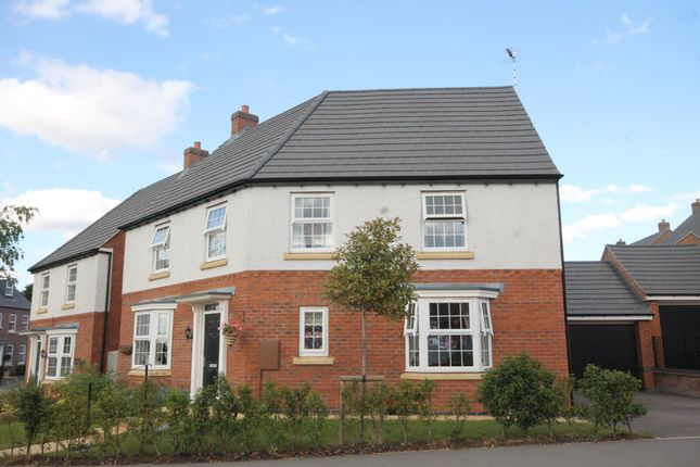 "Thumbnail Detached house for sale in ""Ashtree"" at Melton Road, Queniborough, Leicester"