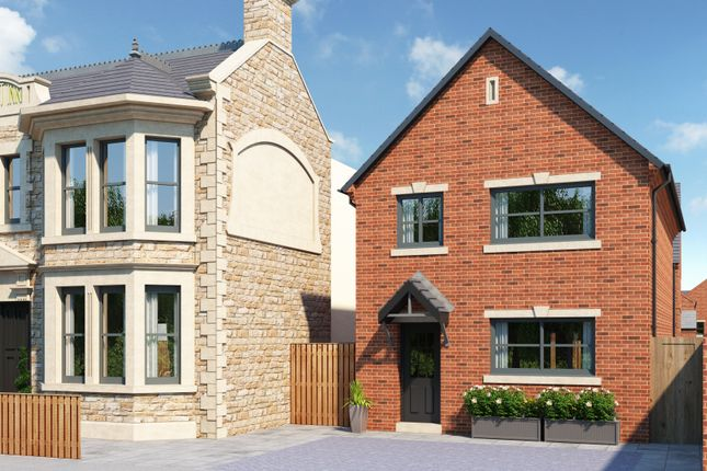 Thumbnail Detached house for sale in The Levisham, Wortley Road, High Green