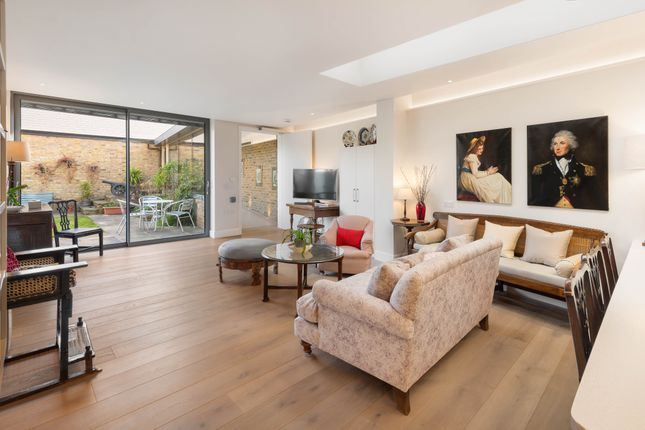 Thumbnail Semi-detached house for sale in Crabtree Lane, Fulham, London