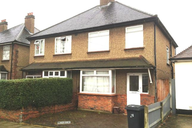 Thumbnail Semi-detached house to rent in Tolworth Park Road, Surbiton