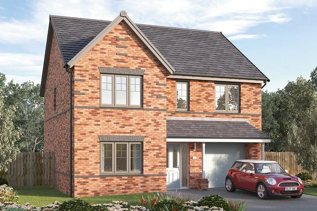 "Thumbnail Detached house for sale in ""The Sudbury"" at Cranleigh Road, Woodthorpe, Mastin Moor, Chesterfield"