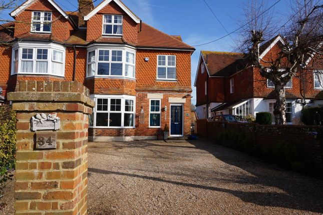 Thumbnail Semi-detached house for sale in London Road, Hailsham