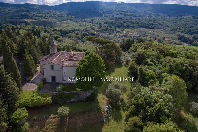 Fiesole, Historic Charming Villa For Sale, Church With Frescos