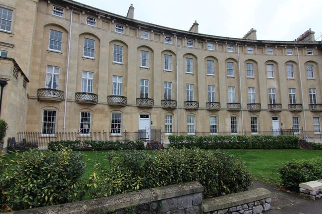 Thumbnail Flat to rent in Royal Crescent, Weston-Super-Mare, North Somerset