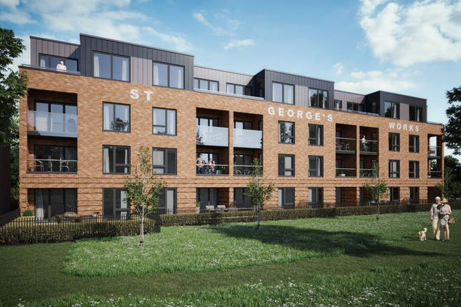 Thumbnail Flat for sale in St Georges Works, Silver Street, Trowbridge